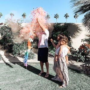 GENDER REVEAL Balloon & powder/confetti!!💙💗